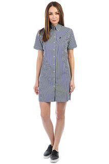 Платье Fred Perry Gingham White/Navy