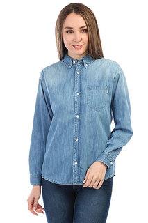 Рубашка женская Carhartt WIP Civil Blue (prime Bleached)