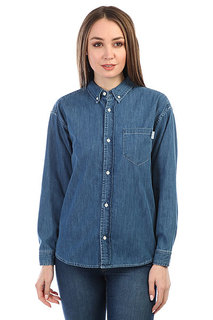 Рубашка женская Carhartt WIP Civil Blue