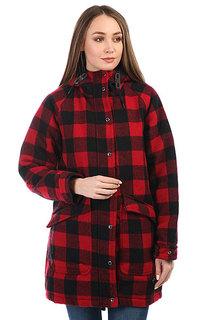 Куртка зимняя женская Penfield Kingman Buffalo Plaid Red