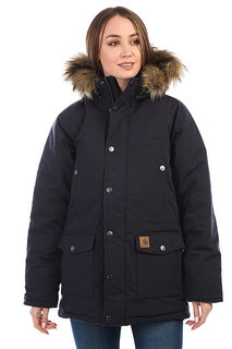 Куртка парка женская Carhartt WIP Trapper Parka Dark Navy/Black