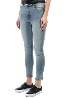 Джинсы узкие Cheap Monday High Skin Grande Blue