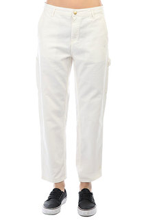 Штаны прямые женские Carhartt WIP Pierce Pant Wax (stone Washed)