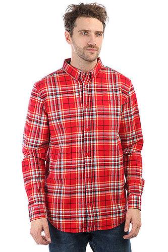 Рубашка в клетку DC South Ferry Tango Red