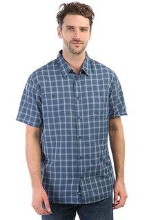 Рубашка в клетку Quiksilver Wakeplaid2 Dark Denim Wake Plai