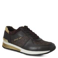 Кроссовки MICHAEL KORS 43R6ALFP2B темно-коричневый