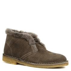 Ботинки NERO GIARDINI A411892D серо-коричневый