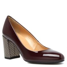 Туфли GIOVANNI FABIANI F3621 темно-бордовый