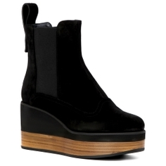 Ботинки JIL SANDER NAVY JN27033 черный
