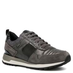 Кроссовки GEOX D643FA коричнево-серый