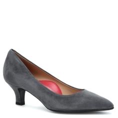 Туфли PAS DE ROUGE R225 тёмно-серый