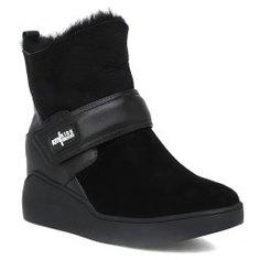 Ботинки KISS MOON 713-3 черный