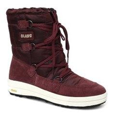 Ботинки OLANG CLARA бордовый