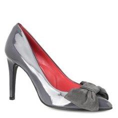 Туфли PAS DE ROUGE 1455 темно-серый