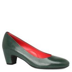 Туфли PAS DE ROUGE 1180 зеленый