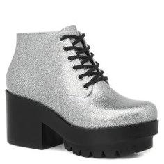 Ботинки MELISSA 31619 серебряный