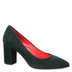Туфли PAS DE ROUGE 1365 зеленый