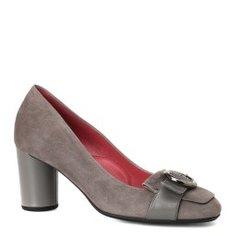Туфли PAS DE ROUGE 1441 бежево-серый