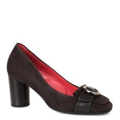 Туфли PAS DE ROUGE 1441 темно-коричневый