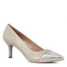 Туфли NERO GIARDINI P717434DE бежево-серый