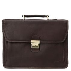 Портфель GERARD HENON R31007 темно-коричневый