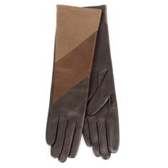 Перчатки AGNELLE CELIA/DIAG_AGN/S темно-коричневый