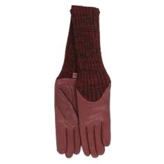 Перчатки AGNELLE CECILIA/A бордовый