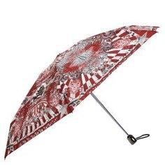 Зонт полуавтомат JEAN PAUL GAULTIER 1265 BIS темно-красный