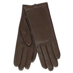 Перчатки AGNELLE NEW_KATE/S коричнево-зеленый