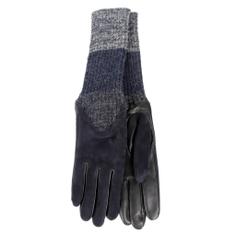 Перчатки AGNELLE CECILIA/AGNSUED/W темно-синий