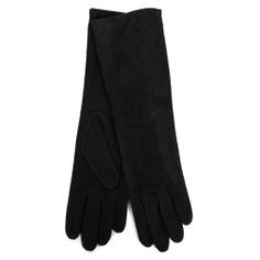 Перчатки AGNELLE CELIA/SUED/W черный