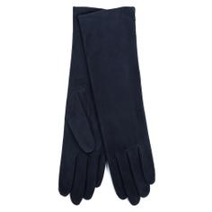 Перчатки AGNELLE CELIA/SUED/W темно-синий