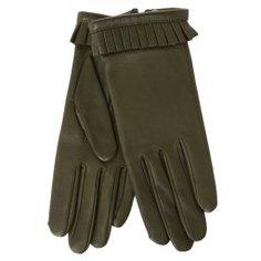 Перчатки AGNELLE FROUFROU/S темно-зеленый