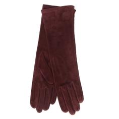 Перчатки AGNELLE CELIA/SUED/S бордовый