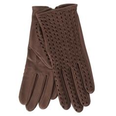 Перчатки AGNELLE PERFO TRESSE серо-коричневый