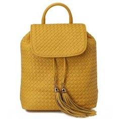 Рюкзак DOLCI 78 темно-желтый