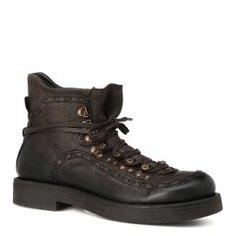 Ботинки INUOVO ERIS коричнево-зеленый