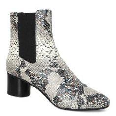 Ботинки ISABEL MARANT DANELYA серый