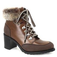 Ботинки PARABOOT ALASKA коричневый
