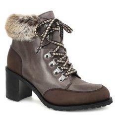 Ботинки PARABOOT ALASKA коричнево-серый