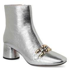 Ботинки MARC JACOBS M9002065 серебряный