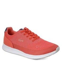 Кроссовки LACOSTE SPW0025 CHAUMONT розово-оранжевый
