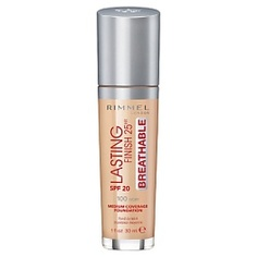 RIMMEL Тональный крем Lasting Finish Breathable № 200 Soft Beige
