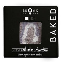 BRONX COLORS Тени для век Single Slide Baked Shadow SATURN, 2 г