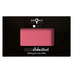 BRONX COLORS Румяна для лица Single Slide Blush CORAL, 4 г