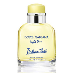 DOLCE&GABBANA Light Blue Pour Homme Italian Zest Туалетная вода, спрей 75 мл