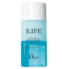 DIOR Средство для снятия макияжа с глаз, губ и бровей с тройным действием Dior Hydra Life bi-phasic make-up remover 125 мл