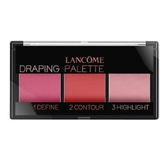 LANCOME палетка румян 3-в-1 для скульптурирования лица Palette Draping Pink, 9 г