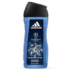 ADIDAS Гель для душа для тела и волос для мужчин UEFA Champions League Champions Edition 250 мл