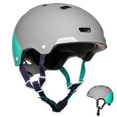Детский Шлем Для Катания На Роликах, Скейтборде, Самокате, Велосипеде Mf 540 Oxelo